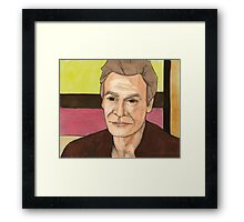 A New Man - Ethan Rayne Framed Print