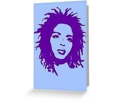 Lauryn Hill 2 Greeting Card