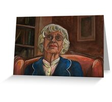 Where the Wild Things Are - Old Lady - BtVS Greeting Card