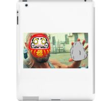 The Rock Daruma iPad Case/Skin