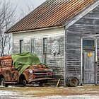 The Old Rusty Painter by wiscbackroadz
