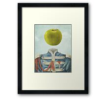 Sgt. Apple  Framed Print