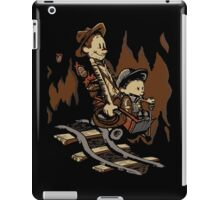 Hold onto your Potatoes, Dr. Hobbes! iPad Case/Skin