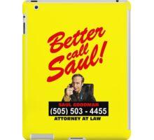 Better Call Saul iPad Case/Skin