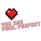 Pixel Heart Love Designer by Tee Brain Creative