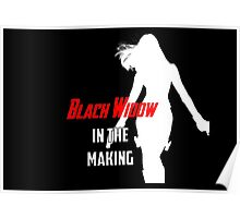 Black Widow in the Making Poster