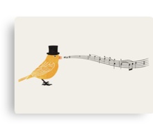 Classical Canary  Canvas Print
