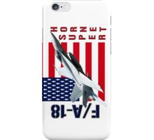 F/A-18 SuperHornet  iPhone Case/Skin