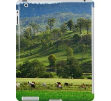 Grazing Cattle #1 iPad Case/Skin