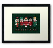 The Christmas Nutcrackers Framed Print
