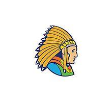 American indian man kentucky by Artvik