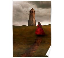 Girl in red Poster