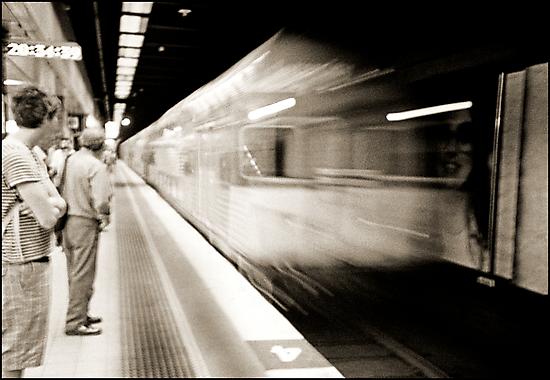 The train cometh..... by Juilee  Pryor