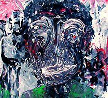 PTSD (a self poetrait) by Phil Cashdollar