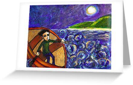 seaboy rowing by genevievem
