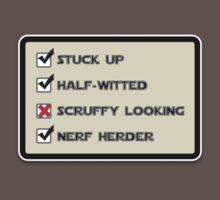 Star Wars Nerf Herder quote by PixelRider