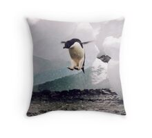 The secret launch. Throw Pillow