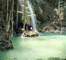 Erawan National Park- Thailand by hadstr
