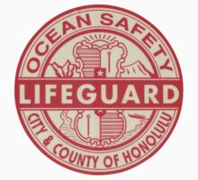 Hawaii Lifeguard Logo Kids Clothes