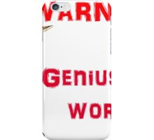 wile e coyote iPhone Case/Skin