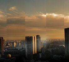 Singapore Cityscape by Paul Vanzella