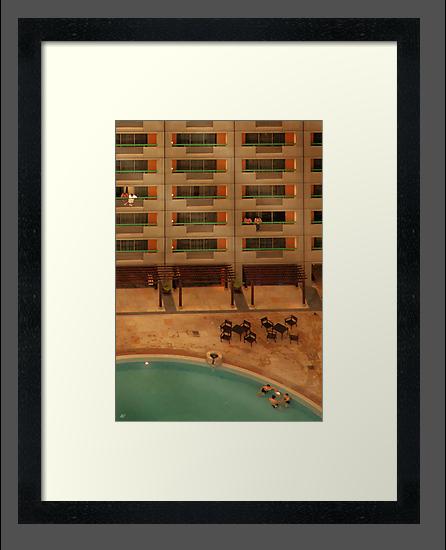 Hotel Pool by Paul Vanzella