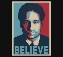 FOX MULDER BELIEVE by Théo Proupain