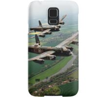 Two Lancasters over the Upper Thames Samsung Galaxy Case/Skin