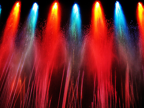 Liquid Fireworks by Tommy Seibold