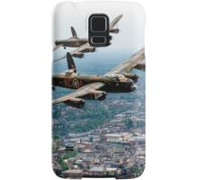 Two Lancasters over High Wycombe Samsung Galaxy Case/Skin