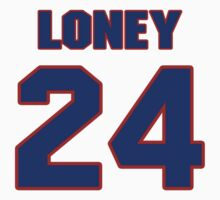 National Hockey player Troy Loney jersey 24 T-Shirt