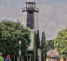 Lighthouse Shops by Roland Pozo