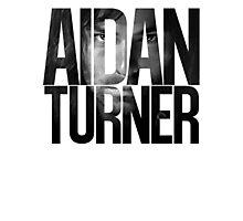 Aidan Turner Photographic Print
