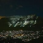 Table Mountain at Night by Macky