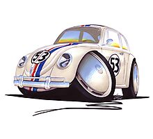 VW Beetle - Herbie Photographic Print