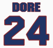 National Hockey player Andre Dore jersey 24 by imsport