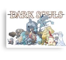 Dark Souls Horde Metal Print