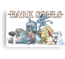 Dark Souls Horde Canvas Print