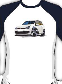 VW Golf GTi (Mk6) White T-Shirt