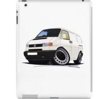 Volkswagen T4 Transporter (Bumper) White iPad Case/Skin