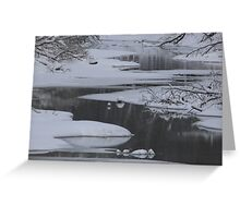 Winter Water Greeting Card