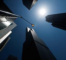scyscrapers, Chicago loop, architecture by bjphotographs