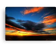 The Color of Heaven Canvas Print