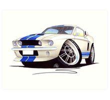 Shelby Mustang GT500 (60s) Art Print