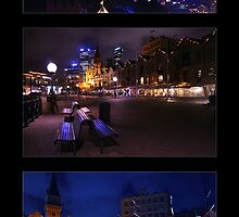 Night lights at Circular Quay by Sara Lamond