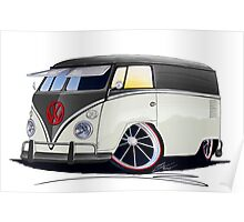 VW Splitty Panel Van (RB) Poster