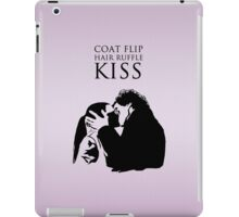 Sherlock and Molly Kiss II iPad Case/Skin