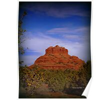 Bell Rock in Sedona Poster