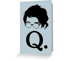 Quartermaster II Greeting Card