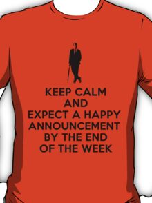Happy announcement T-Shirt